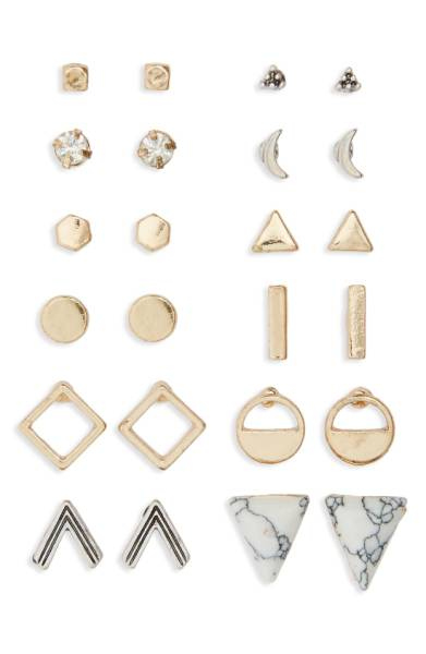 BP. Geometric Stud Earrings  - Nordstrom - $19