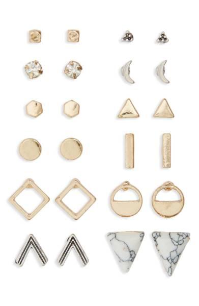 BP. Geometric Stud Earrings - Nordstrom - $19