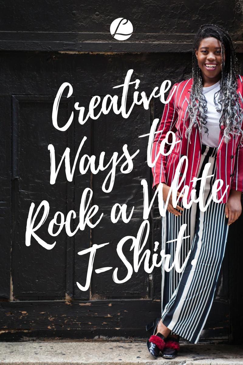 Style Toolkit White T Shirt