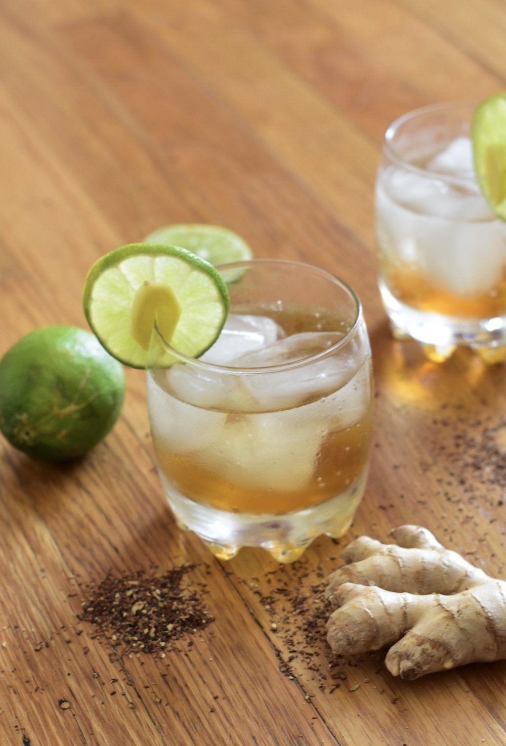 Chai Spiced Dark and Stormy - Fall Cocktails