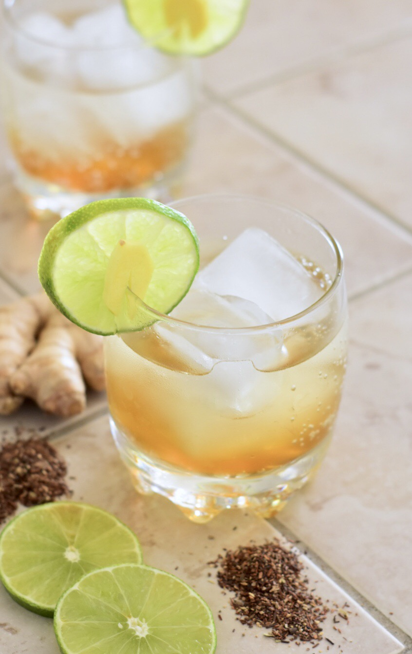 Tailgating Cocktail Chai Spiced Dark n Stormy