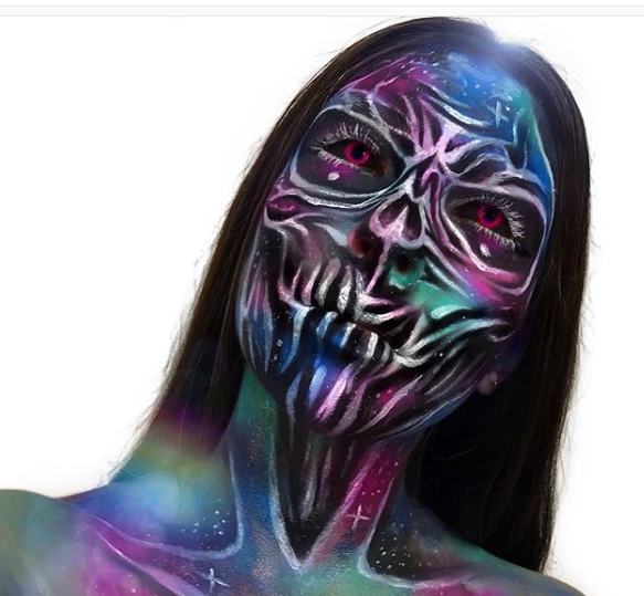 15 Amazing and Scary Halloween Makeup Looks