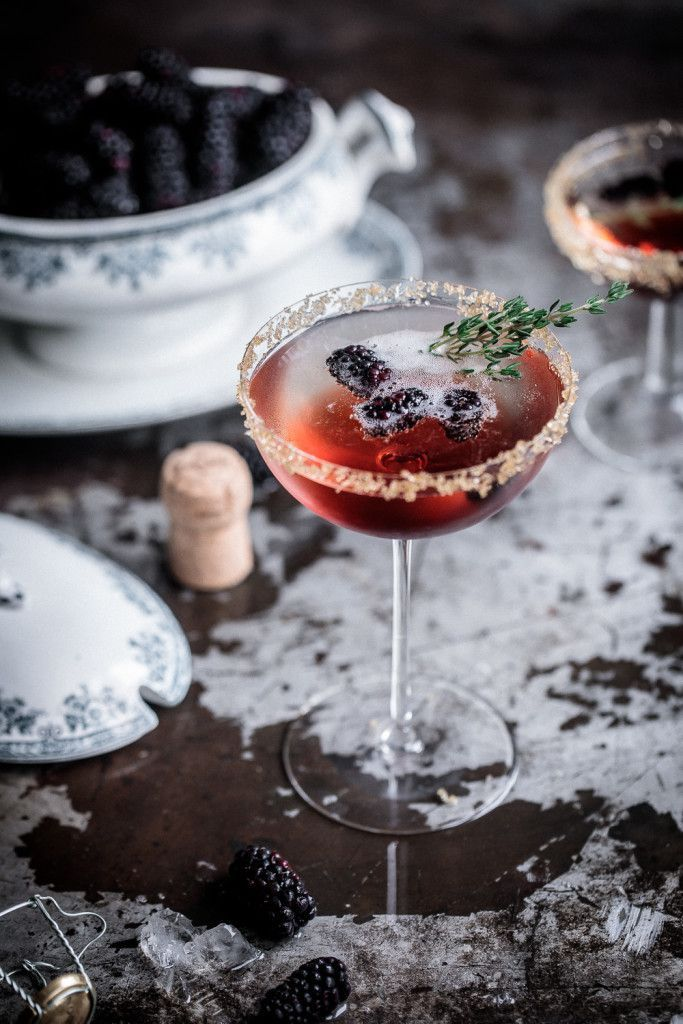 A classy winter cocktail