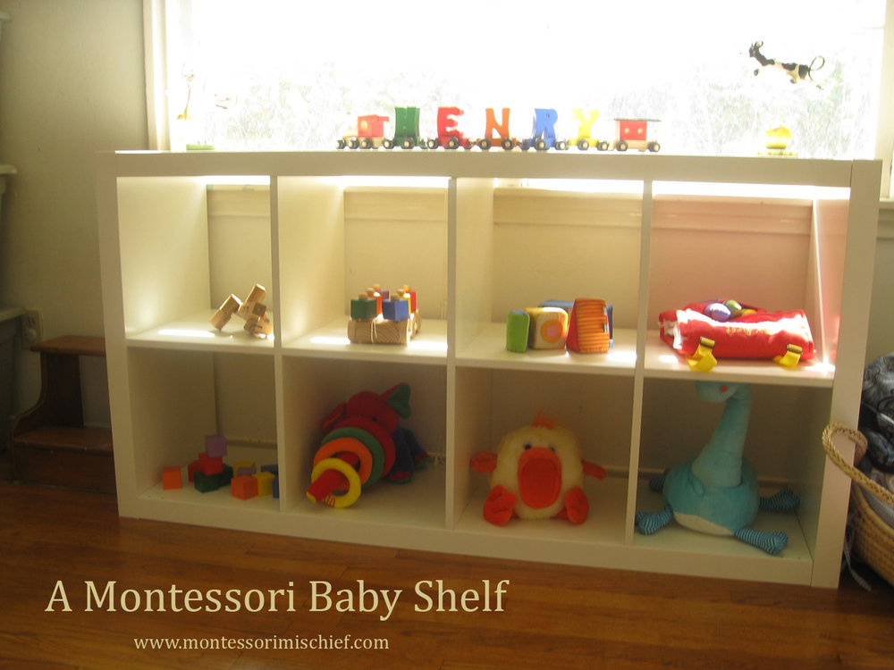 A Montessori Baby Shelf