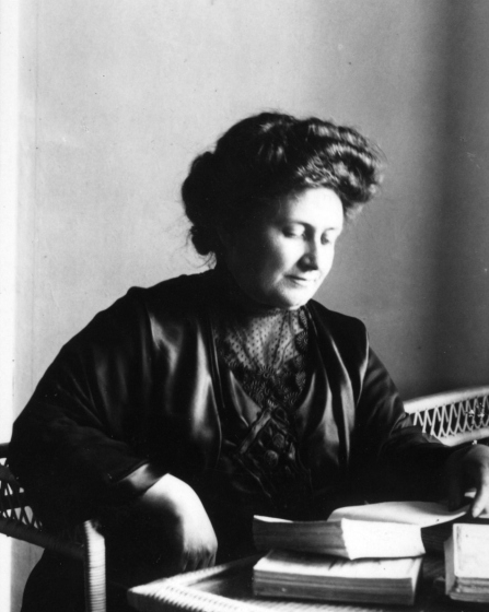 Maria Montessori in 1913. A little slice of history from Montessori Mischief