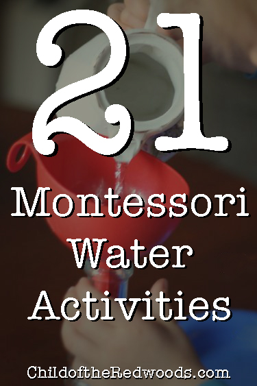 21 Montessori Water Activities For Your Practical Life Shelf Child