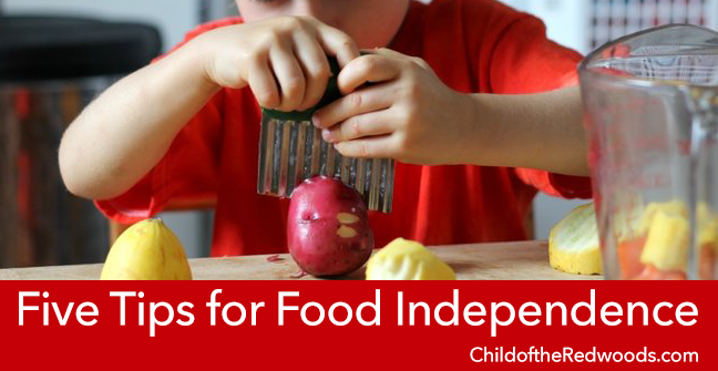 Don't feed your kids! Organize your fridge! Five steps to food independence