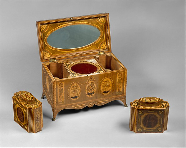 Ornate Tea Chest