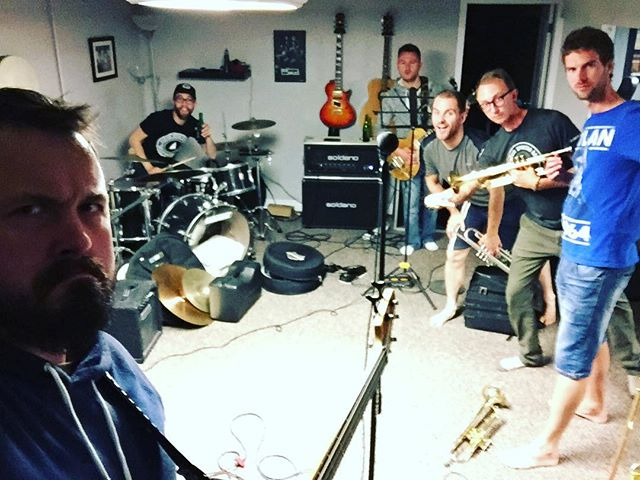 Smelliest rehearsal of the year in preparation for Fishbones, September 15, with @theroyalnorth and Arrows in the Air