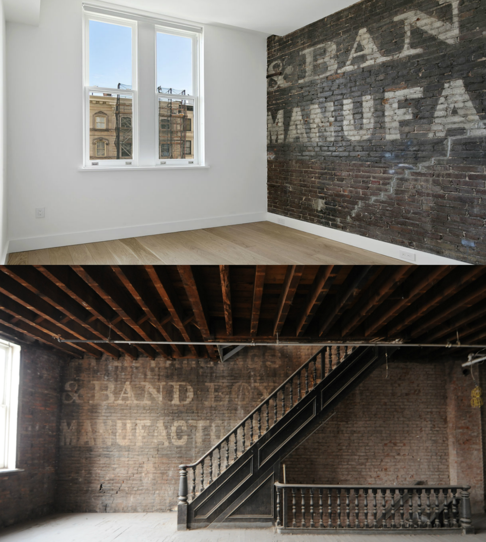 Commercial to Residential Before & After - 304 Canal Street