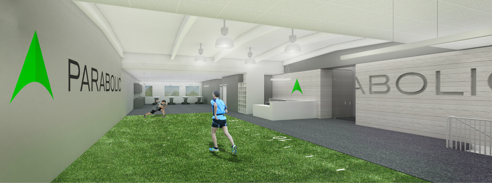Rendering of future Parabolic location at Murray Hill Tennis & Fitness
