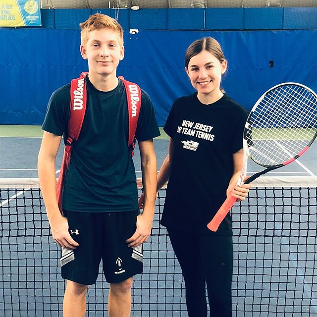 Double tap to show your support for Luke and Olivia. Over the weekend they represented Murray Hill as part of the 2019 Elite League 18U Team. Players from Metro, New Jersey and Long Island faced off in the first of 3 exciting events.  _  #usta #juniorteamtennis #ustajtt #2019TeamElite #juniortennis #thegreatestgame #fortheloveofthegame #tennisrunsinourblood #mhtjuniors