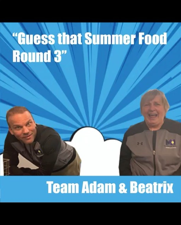 "Inspired by @theellenshow 's ""Taste Buds"" game, we decided to host our own version with the ""Guess that Summertime Food"" game. Round 3: Coach Adam and Coach Beatrix. Watch to the end to find out their final time and tune in next Sunday to see which two pros will pair up next to try and beat the fastest time.  _ And don't forget to sign up for Murray Hill summer camp. Week 1 starts June 17th! Link to sign up in bio.  _ #njsummercamp #summer2019 #njsummerfun #newprovidencenj #tenniscoaches  #tastebudsgame #theellenshow #tennisfun #tennisrunsinourblood #2019summercamp #njkidstennis #tennisisoursport #coachAdam #coachBeatrix"