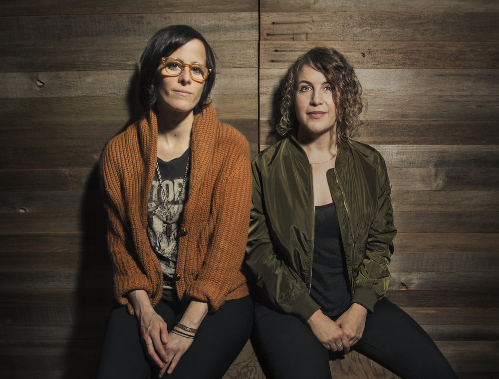 Sera Cahoone and Alex Guy. Photo by Hilary Harris.