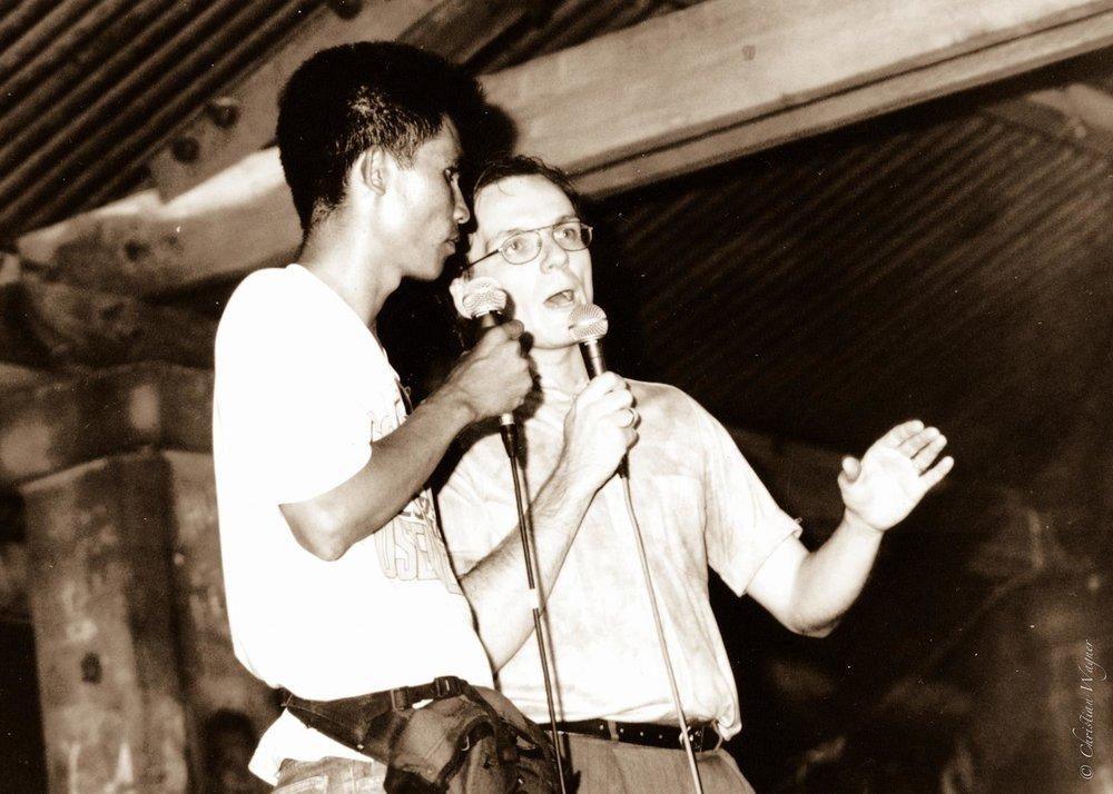 Christian predigt vor zwei Jahrzehnten in Oslob Cebu