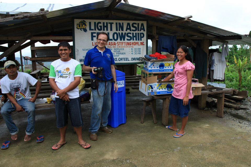 Nothilfe für Gemeinden nach Taifun