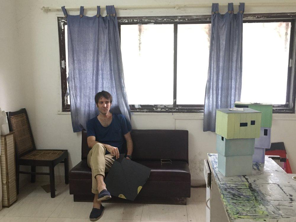 fotografía en el estudio WAA Residency, Mumbai (India)