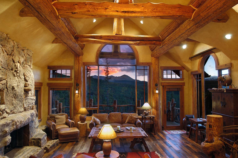 Дизайн домов из дерева снаружи и внутри