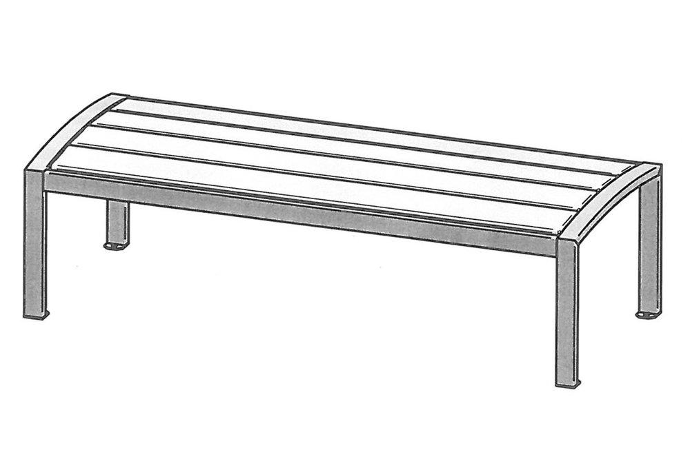Patio Park Bench