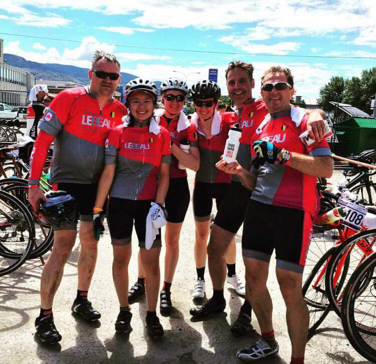 Join our cycling team on Strava! Look for Patisserie Lebeau under Clubs