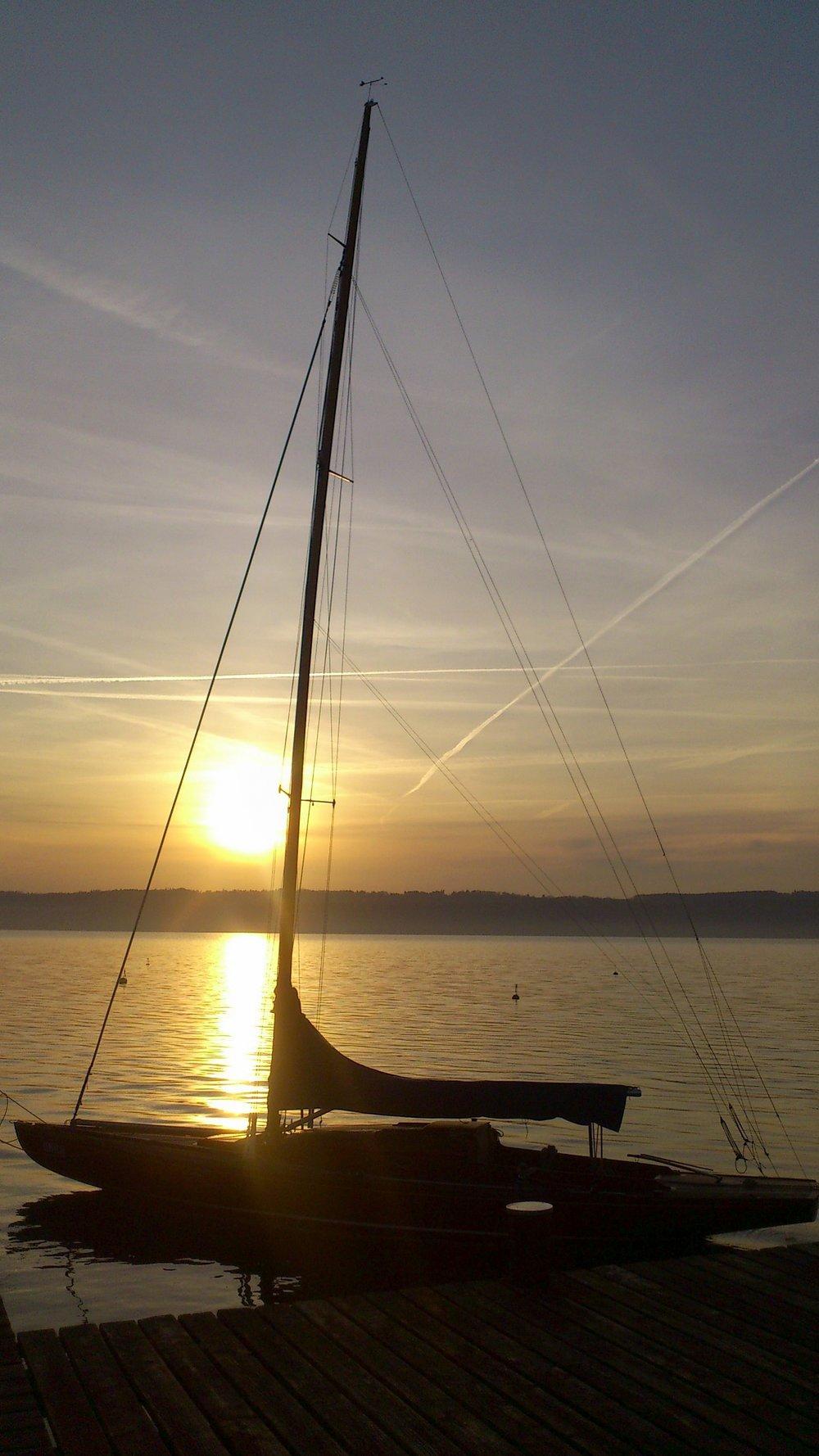 Bild 4 - Sonnenaufgang