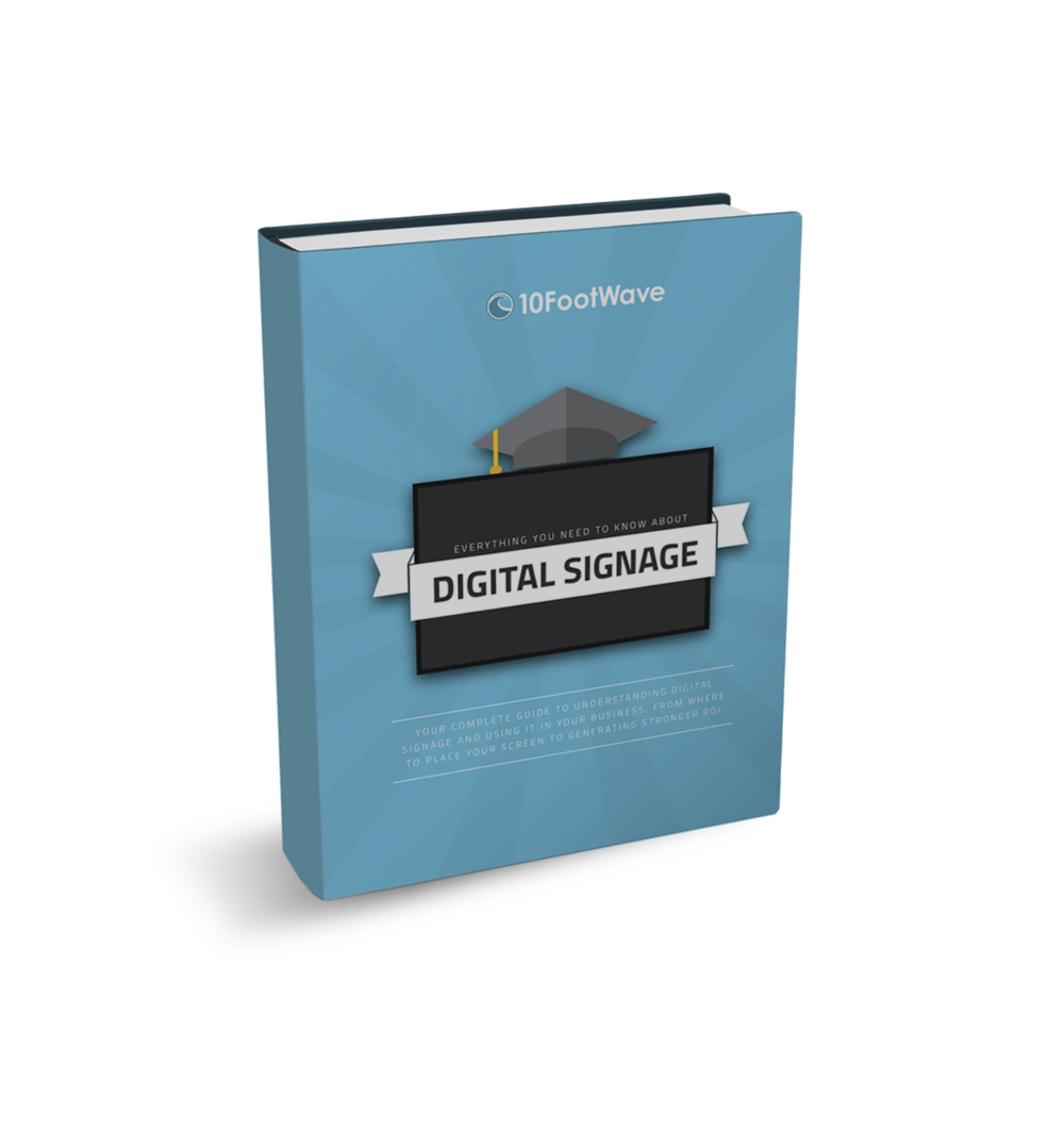 free digital signage guide