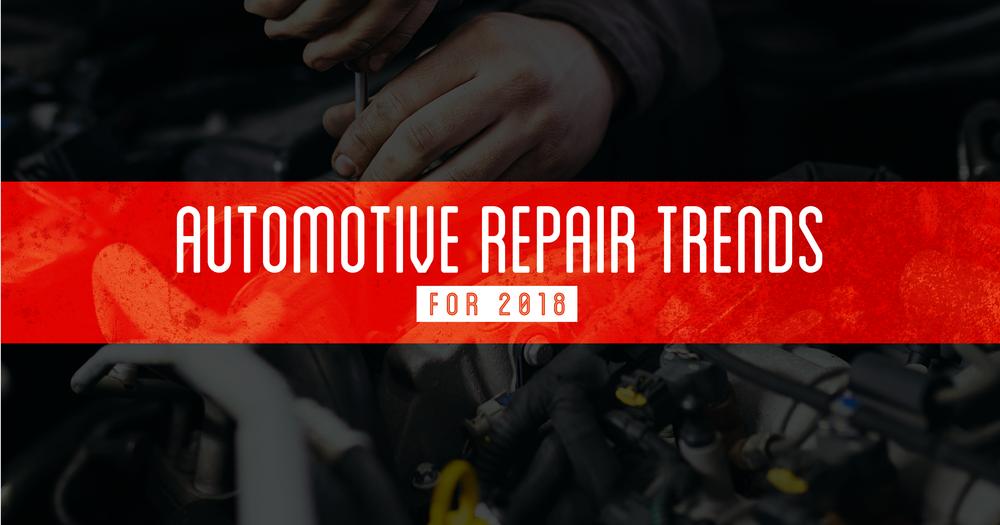 automotive repair trends 2018