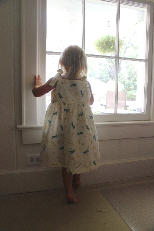 Poppy dress  in Dragon Fly