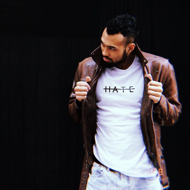 Stepping into the weekend with NO HATE! #beindefined