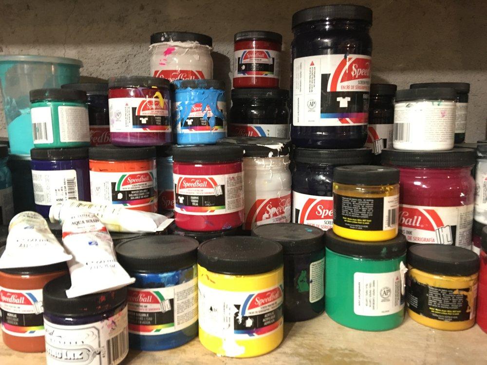 Paints in the Basement