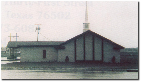 First church building constructed in 1978.