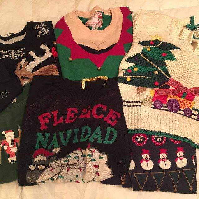 A Christmas sweater a day, Oh vey !