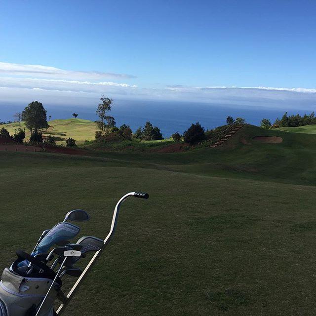 Madeira Golf is a workout !