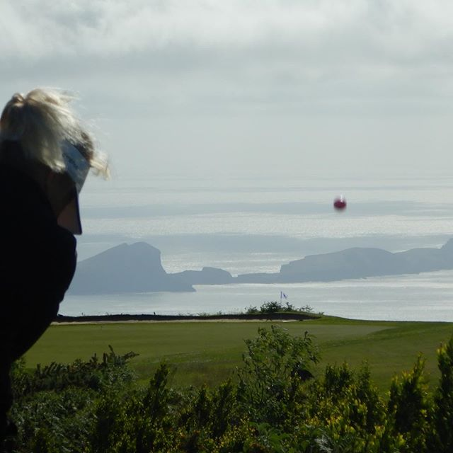 Almost birdied the hole at santo de Serra, Madeira !