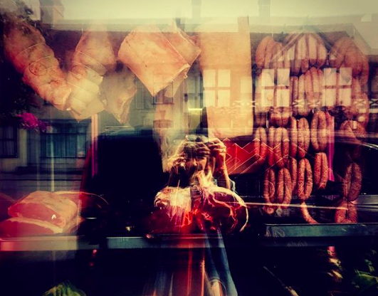 Sept 1, 2017 - For me a proper butchers shop is like a treasure trove, full of ingredients waiting to be explored, each with a story behind them. This is the window of our local butcher in Overton where I bought the lamb ribs last week. Something I find very interesting is that we find it so easy to care about things when they are close to us and we find it very easy to forget everything else. In London, in the city it's easy to forget about 'nature' just as in the countryside, it's easy for me to forget about the sea when I'm surrounded by trees and forests. But every single time we consume something, whether it's orange juice, sprouts or steak we are interacting with nature. Whether it's a conscious choice or not, those choices are having an impact on our environment.