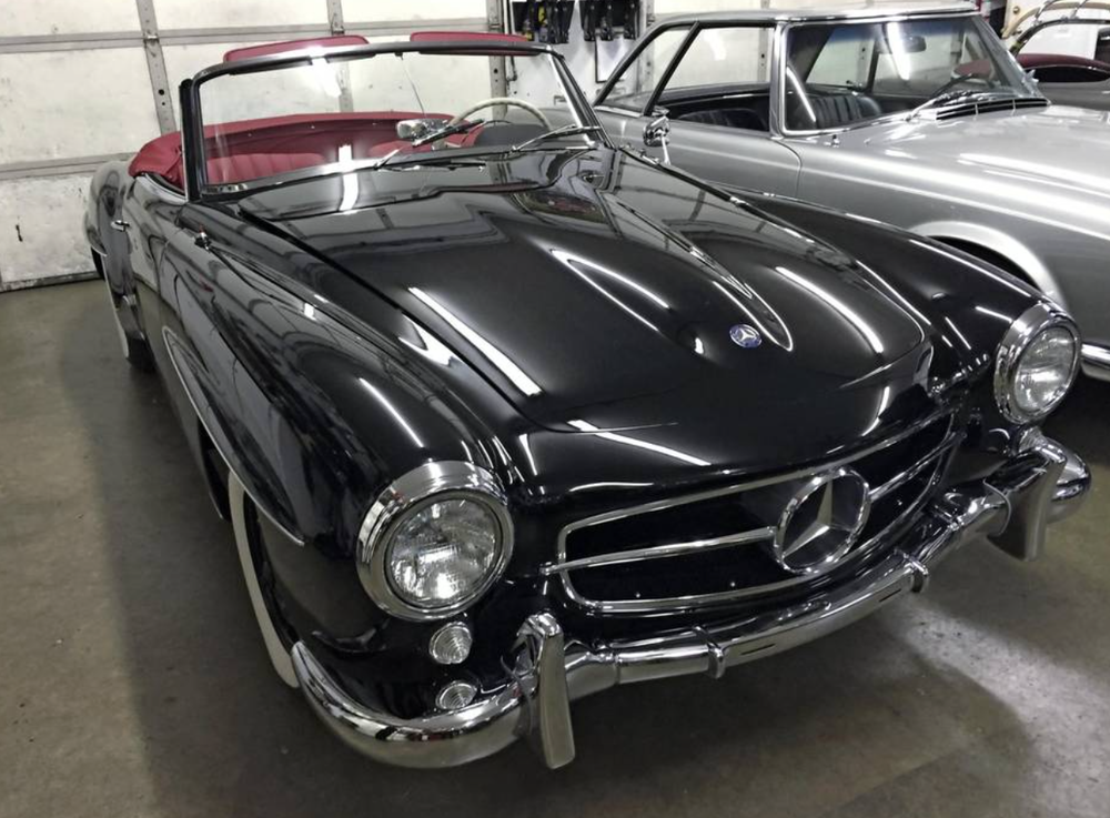 "A 1959 cabriolet Koniczek purchased from an elderly couple who kept the car in pristine condition for 20 years in their garage. To his surprise, it came with a rare factory hard top, which he found in the couple's barn in it's original box. He called the find ""a once in a lifetime opportunity."""