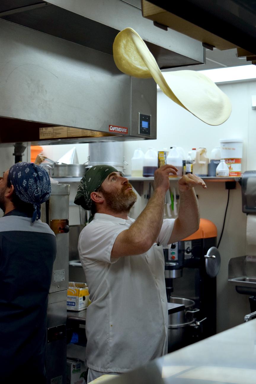 Donnie in the kitchen