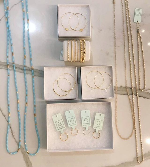 Repeat after me, I deserve New Jewelry! #jewelry #gold #necklaces #earrings #rings #bracelets #turquoise #spring #fashion #fashionista #style #shopping #sparkle #bling #onefishtwofish #onefishstore