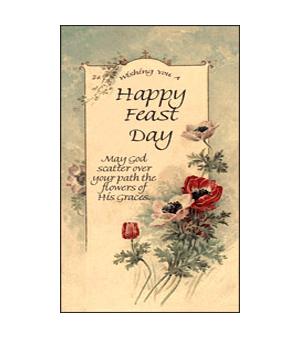 Happy feast day fd 001 saints galore catholic publishing happy feast day fd 001 m4hsunfo