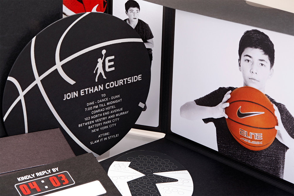 Basketball Theme Bar Mitzvah Alpine Creative Group