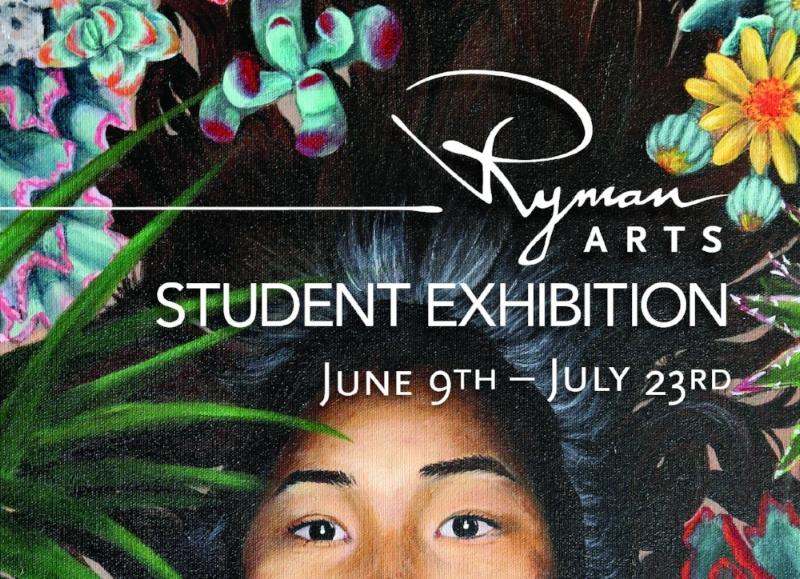 Front of 2017 graduation exhibition postcard