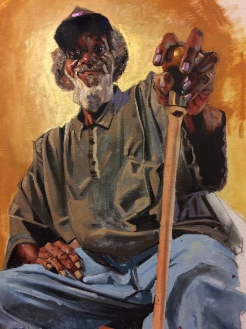 """Garry""    2016, oil on canvas"