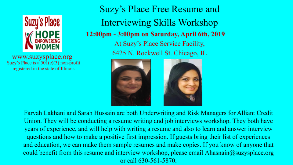 Farvah Lakhani  and Sarah Hussain Resume Writing 4_06_2019 (1).png