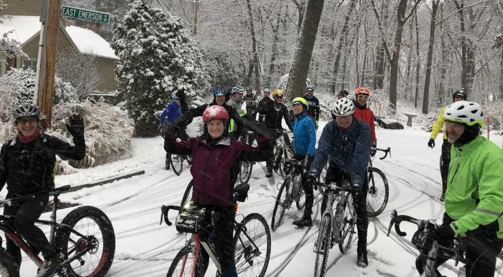 Last year, we had over 40 people come out for the first snow ride! This will be the fourth year we've hosted this winter kick-off super ride! Get ready now and stay tuned so you're sure to make it to this ride and all that follow it!