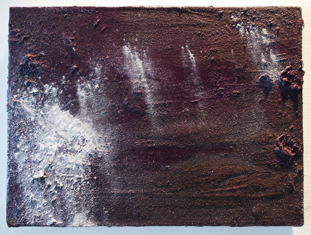 """Tiffany Livingston, """"Still falling"""", 2018. 9 in. x 12 in.Oil on linen."""