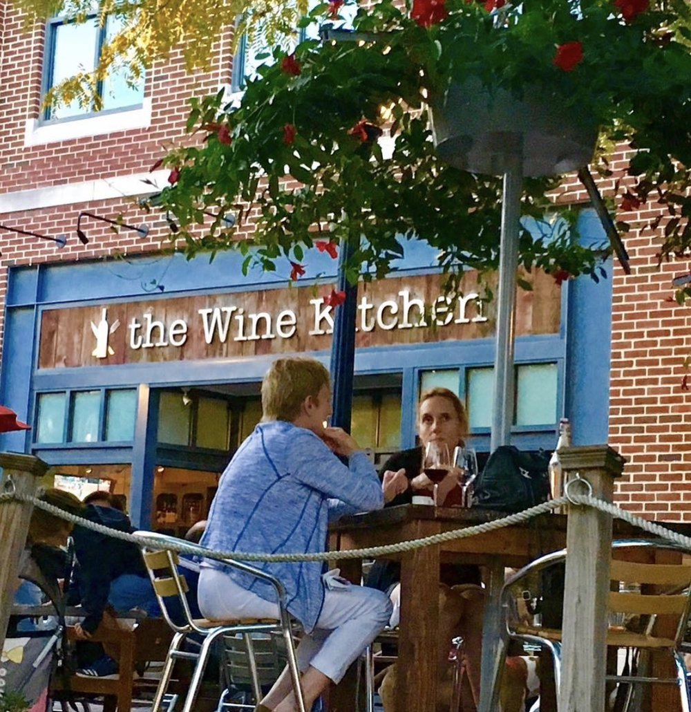 The Wine Kitchen on Carrol Creek in old town Frederick, Maryland.