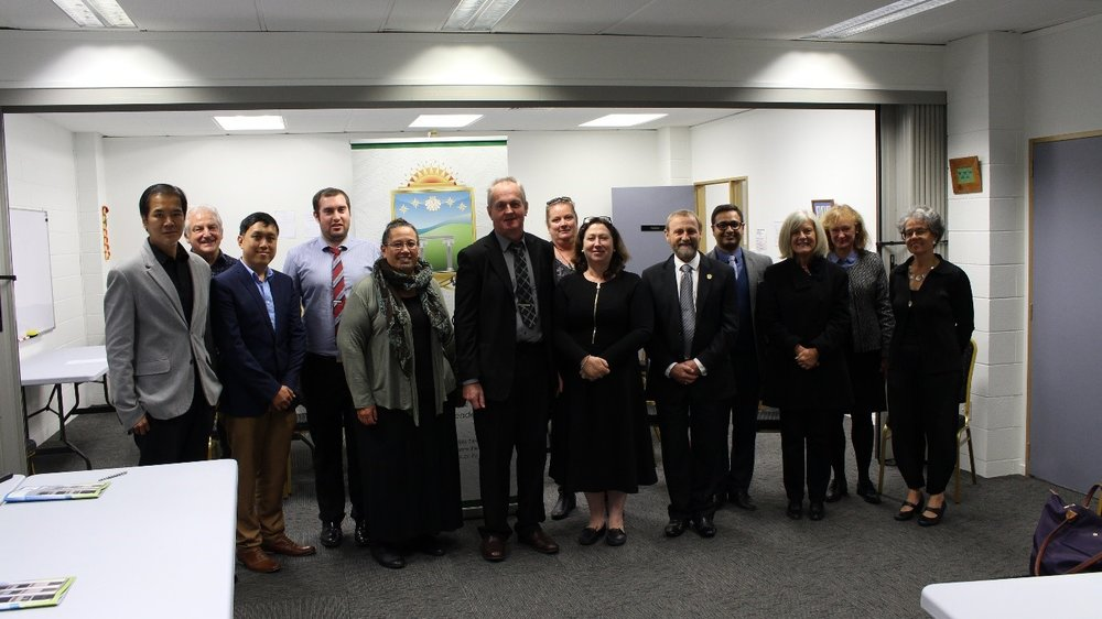 Visiting national and International NZQA Masters Evaluation Panellists and FREEDOM Presidents and faculty