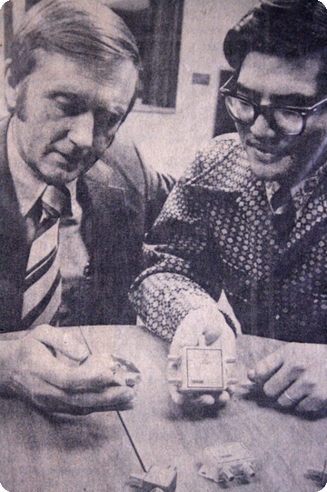 Max Falkenstein and Ching Wang