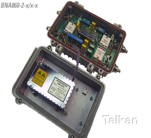 bna 860 mhz 2 way line amplifier