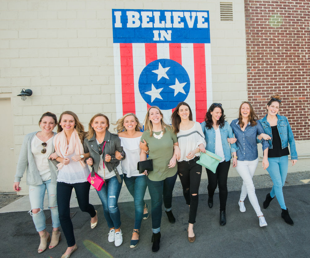 The I Believe in Nashville sign on 12 Ave South is a tourist staple now in Music City.